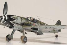 Luftwaffe WW II  scale models
