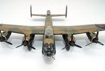 RAF WW II scale models