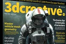 3D Publications / Great Magazines covering everything from modeling to animation to stills.