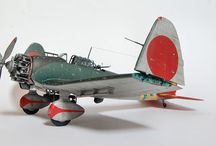 WW II Airplanes - paper models