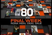 RDNA Real Deals! / Features products on sale for $2.50 with a weekly showcase wednesday newsletter / by Runtime DNA INC