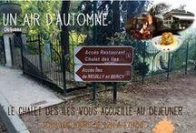 AUTOMNE AU CHALET / Nos belles couleurs d'automne