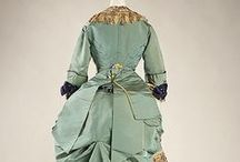 19th Century Fashions / Predominantly high-fashion of the 1800s.