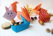 PAQUES / Notre traditionnelle chasse aux œufs de Pâques  Des ateliers créatifs, composition de paques, origami, maquillage