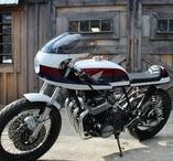 Atlanta Motorcycle Works Resorations and Custom Builds / Atlanta Motorcycle Works specializes in restoring vintage Japanese motorcycles as well as building custom cafe racers, brats and bobbers.
