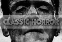 Classic Horror / Horror movie classics.