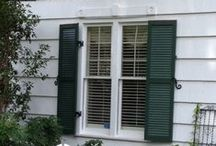 Sunbelt Shutters Louvereds / Exterior Wood Window Shutters, Louvers built by Sunbelt Shutters