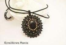 My handmade jewelry/ bizuteria zrobiona przeze mnie