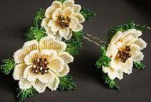floral jewelry/ kwiatowa biżuteria