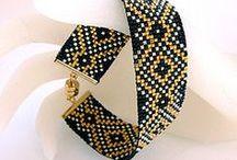 Beading:bracelets/ plecione bransoletki