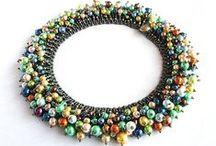 Beading: necklaces/ plecione naszyjniki