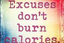 Fitspiration. / Motivation to be/get fit