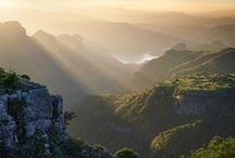 Landscapes of South Africa / South Africa has spectacular landscapes.