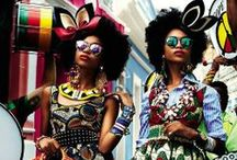 Mzansi fashionistas / From the runway to the street, South African fashion design is unique, daring and carefree. / by South African Tourism
