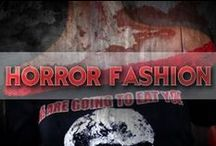 Horror Fashion / Some of our favorite horror fashion. Shoes, shirts, dresses, jewelry, and more.
