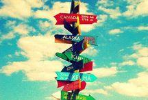 Wanderlust. / The innate desire to travel the world