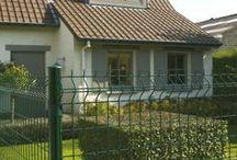Bekafor Classic / Klasický panelový drôtený plot pre rodinný dom.