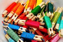Sewing Room & Crafty Storage Ideas
