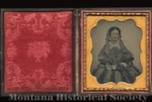 MHS Cased Images / Selection of cased ambrotypes, daguerreotypes and tintypes from the Montana Historical Society Photograph Archives.  To order a reproduction, download our order form at http://mhs.mt.gov/Research/services/repros.aspx or contact the Montana Historical Society Photograph Archives at (406) 444-4739 / photoarchives@mt.gov / by Montana Historical Society