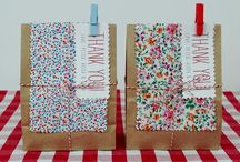 Crafty Packaging & Stationary Ideas / Ideas for handmade wrapping, tags & cards