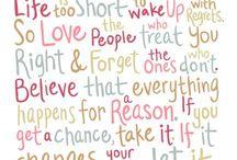 Wise & Inspiring Words