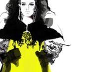 Fashion illustration / Tolle Modezeichnungen