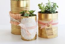 Cans / Dosen upcycling