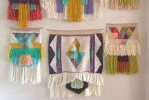 Weaving / Weben modern