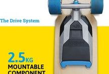 Conversion Kits to motorize Skateboards
