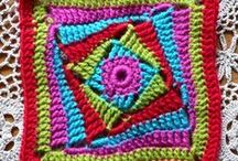 Granny 'Square' Patterns / Nice granny squares - not always square! / by R. Nicola