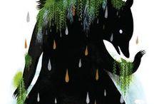 """Inspiration Bär   Bärenkult   Bär Mythologie / Inspirationsboard: In vielen Kulturen rund um den Polarkreis wird der Bär verehrt. Unser Bühnenprogramm ist eine performative Mischung aus ethnologischem Vortrag & Erzählkunst. Premiere war in der Ausstellung """"Bärenkult & Schamanenzauber"""" ...   ... Bear - brother, mother, ancestor  - Bears are worshiped in many cultures of the polar circle as spirit of the forest, incarnation of the highest being, as the mother and ancestor of human beings. This is research for my storytelling program"""