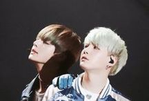 BTS | TaeGi / BTS' members TaeHyung ((V)) and YoonGi ((Suga))