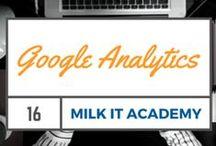 Google Analytics / Teaching the importance of Google Analytics in online marketing.