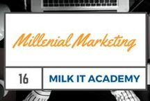 Millennial Marketing / Millennial Marketing - How Millennials Think, Act and Behave. How to Market To Millennials, Millennials Marketing Ideas.