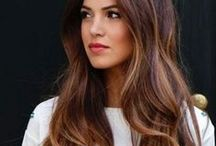 Brown hair inspo / Hair inspiration for brunette hair: