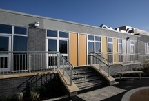 {Architecture} Education Sector / Specialists in the education building sector, Panel Systems manufactures insulated panels for use in curtain walling, architectural panel, composite panels, spandrel and infill panel areas.