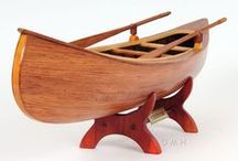 Model Canoes and Ships / Hand made Model Canoes and Ships with great detail.