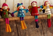 Felt for everyone! / A page full of fantastically fuzzy felted things - how lovely.
