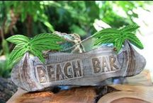 Tiki Bar Decor & Signs / Decorations for your Tiki Bar or Outdoor Area