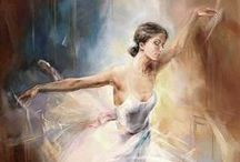Ballet art and inspiration / Beautiful artworks and inspired ideas for dance lovers.