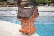 Tropical Lights & Lanterns / Tropical and Balinese Lanterns. For outdoor and indoor use. Perfect for the Island Decor.