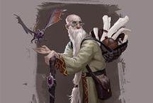 Fantasy Characters / by Josiah Bradbury