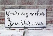 Nautical Wedding / Our wedding... everything nautical : ) / by T R