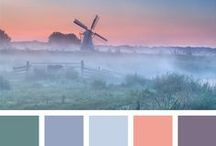colour / colour palettes - color schemes