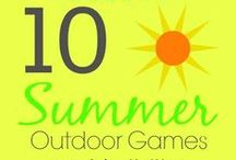 Summer / Summer is all about fun! Great ideas with what to do with the kids to fun entertaining ideas for the summer.