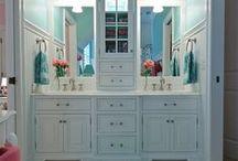 Vanities / Beautiful bathroom vanity designs and ideas.