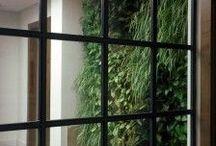 VertiCal GarDen, indoor, Madrid, Spain. / Ecosistema Vertical Leaf-Box con plantas de interior