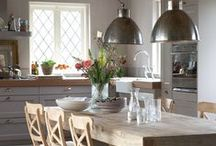 Gorgeous kitchen style ideas / From full blown country to modern rustic, we take a look at kitchen styles and decor of all types. Ideas for kitchen storage, decor and design.