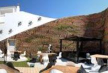 VertiCal GarDen, Hotel Ushuaïa, Ibiza, Spain. / jardin vertical situado en el hotel Ushüaia de Ibiza, recién inaugurado, el jardín cubre de vegetación varios muros que actúan de barrera acústica entre la discoteca al aire libre del patio central del hotel y los apartamentos cercanos.