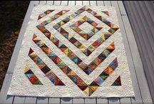 Half square triangles / Half square triangle quilts